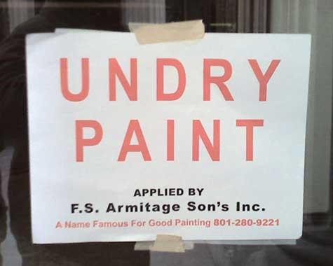 Undry Paint